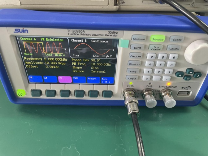 TFG6900 series signal generator function introduction