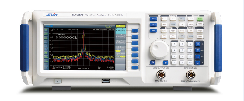How to adjust the parameters to make better use of the spectrum analyzer