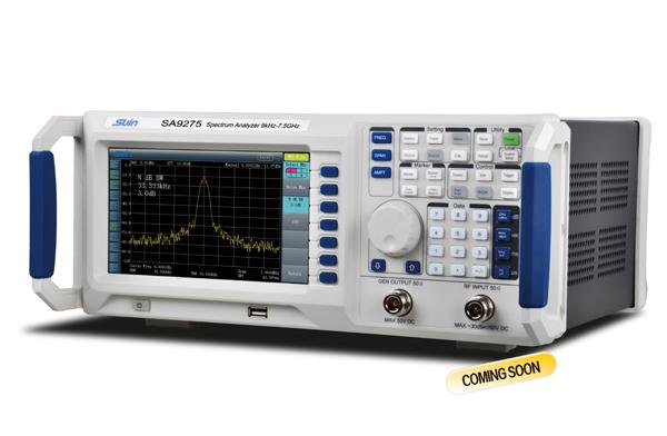 Low cost Spectrum Analyzer, 7 5 ghz spectrum analyzer, digital