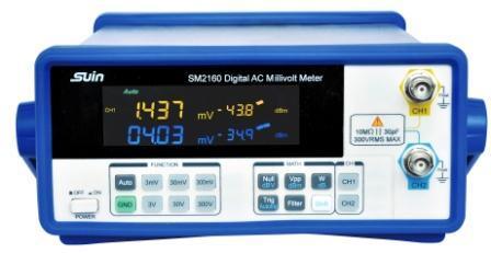 SM2100 Series Digital AC Millivolt Meter
